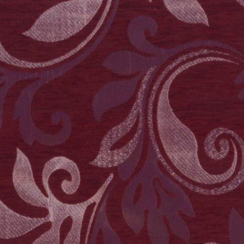 Ткань шенилл Земфира бордо