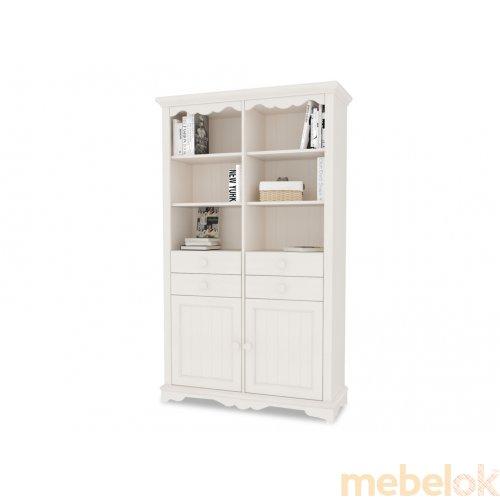 Стеллаж с ящиками и двумя дверками Melanie Plus