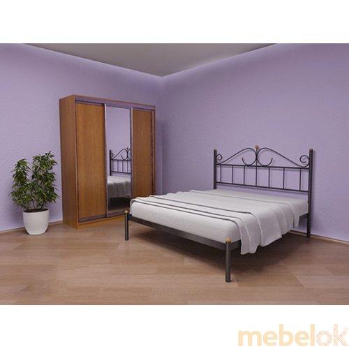 Двуспальная кровать Розанна 160х200