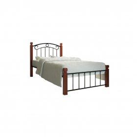 Кровать Монро на деревянных ногах 80х190