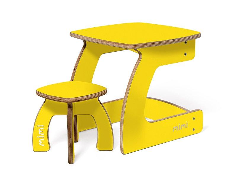Фото комплект карапуз 3-6 лет лимон. фото столы, стульчики п.