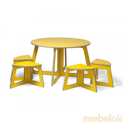 Комплект Квартет (стол+4 стула)