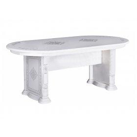 Стол столовый Чикаго Глянец белый
