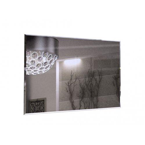 Зеркало Белла белый глянец 120х75х2 см