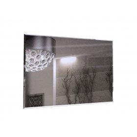 Зеркало 90х60 Богема белый глянец