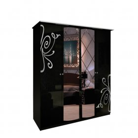 Четырехдверный шкаф Богема