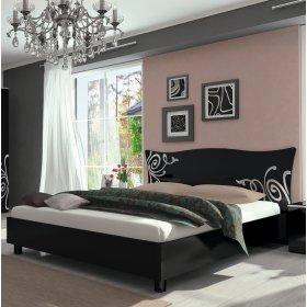 Кровать с мягкой спинкой 160х200 Богема