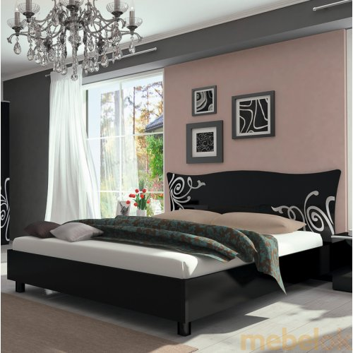 Стильная кровать  Bogema-black22-500x500