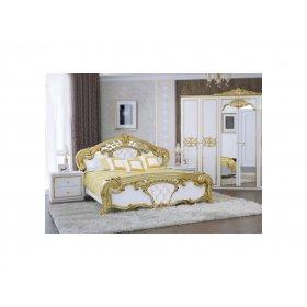 Комплект Ева 4-дв  глянец белый-золото