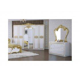 Комплект Ева 6-дв глянец белый-золото