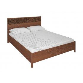 Кровать 160х200 Флора вишня бюзум