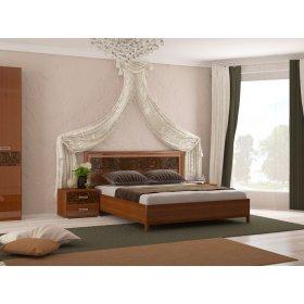 Спальный гарнитур Флора вишня бюзум 1