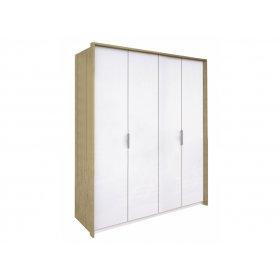 Шкаф четырехдверный Флоренция без зеркал