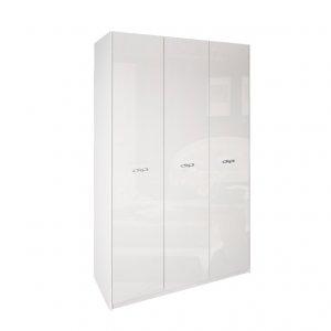 Трехдверный шкаф-купе В-204 с пескоструем 200х240х45 см купить в интернет-магазине мебели МебельОк