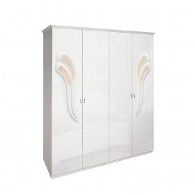 Четырехдверный шкаф Лола без зеркала