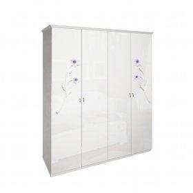 Четырехдверный шкаф Лулу без зеркала