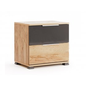 Прикроватная тумба Рамона с двумя ящиками