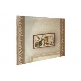 Зеркало 100х80 Виола ваниль/вишня бюзум