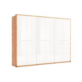 Шкаф шестидверный без зеркала Глянец Ники