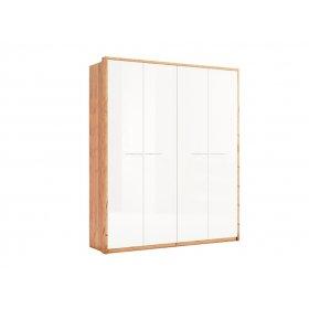 Шкаф четырехдверный без зеркала Глянец Ники