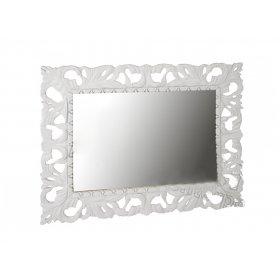 Зеркало Пиония 80х100 белое