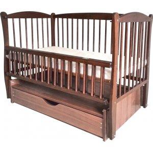 Детская кроватка Элит на шарнирах