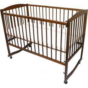 Детская кроватка Антошка на дугах с опускным боком