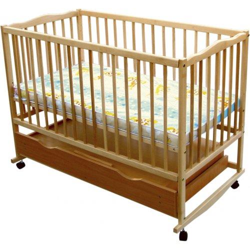 Детская кроватка Радуга с ящиком