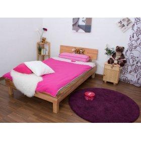 Полуторная кровать b 107 120х200 из массива бука