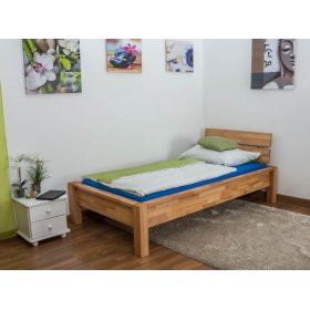 Односпальная кровать b 109 90х200 из массива бука