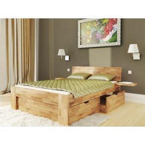 Двуспальная кровать b-111 180х200 из массива бука