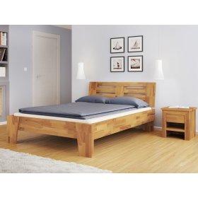 Двуспальная кровать b 112 180х200 из массива бука