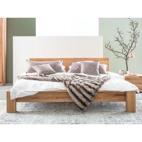 Двуспальная кровать b 114 180х200 из массива бука