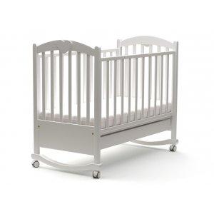 Детская кроватка Диана 120х60 с маятниковым механизмом