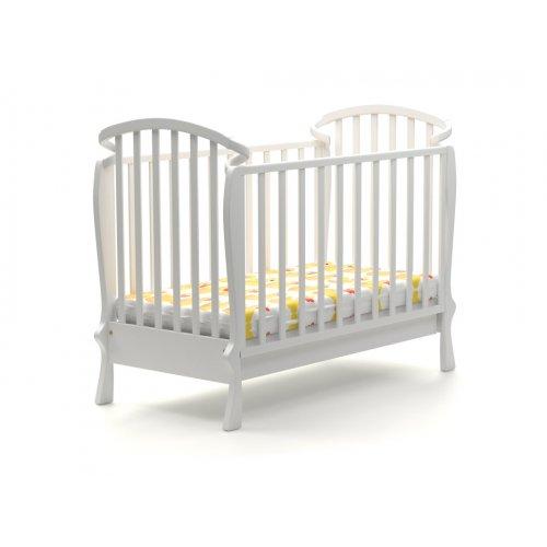 Детская кроватка Элла 120х60 с маятниковым механизмом