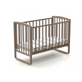 Детская кроватка Эви-ляля 60х120 бук качалки