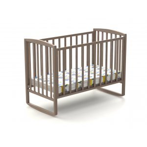 Детская кроватка Эви-ляля 60х120 бук маятник (шарнир)