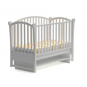 Детская кроватка Мона new 120х60  маятниковым механизмом