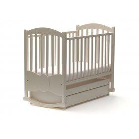 Детская кроватка Бант 60х120 с маятниковым механизмом