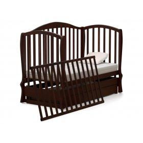 Кроватка-диванчик Эля 60х120 с маятниковым механизмом