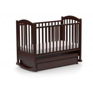 Детская кроватка Каролинка 60х120 с маятниковым механизмом