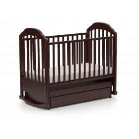 Детская кроватка Мальвинка 60х120 с маятниковым механизмом