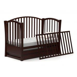Кроватка-диванчик Модена 60х120 с маятниковым механизмом