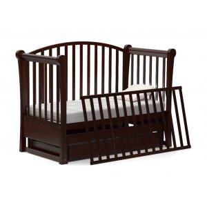 Кроватка-диванчик Мона 60х120 с маятниковым механизмом