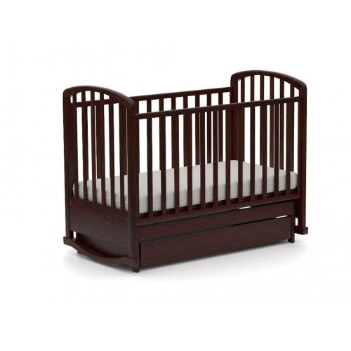 Детская кроватка Сплюшок 60х120 с маятниковым механизмом