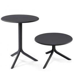 Комплект столов Step+Step mini Antracite (столешница+2 базы)