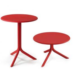 Комплект столов Spritz+Spritz mini Rosso (столешница + две базы)