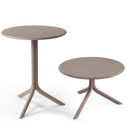 Комплект столов Spritz+Spritz mini Tortora (столешница + две базы)