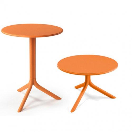 Комплект столов Spritz+Spritz mini Arancio (столешница + две базы)