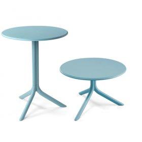 Комплект столов Spritz+Spritz mini Celeste (столешница + две базы)